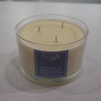 Inspiration & Exhilarate - 3 Wick Soy Massage Candle